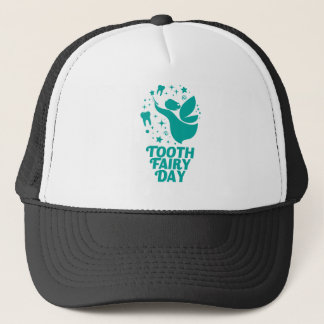 28th February - Tooth Fairy Day Trucker Hat