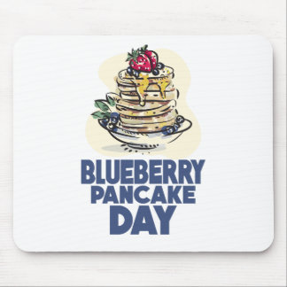 28th January - Blueberry Pancake Day Mouse Pad