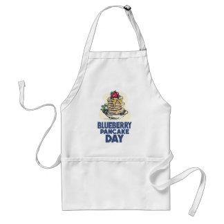 28th January - Blueberry Pancake Day Standard Apron