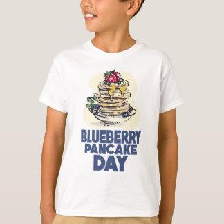 28th January - Blueberry Pancake Day T-Shirt