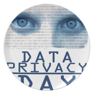 28th January - Data Privacy Day Plate
