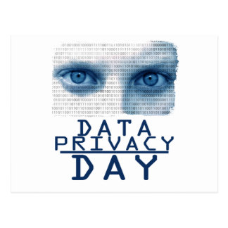 28th January - Data Privacy Day Postcard