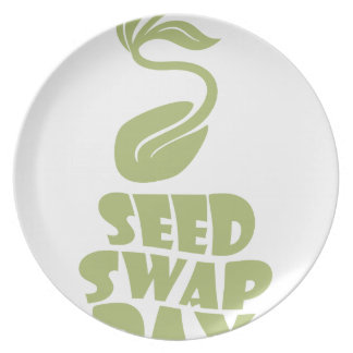 28th January - Seed Swap Day - Appreciation Day Plate