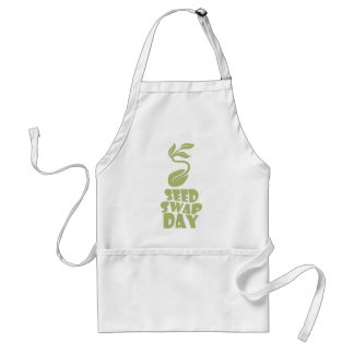 28th January - Seed Swap Day - Appreciation Day Standard Apron