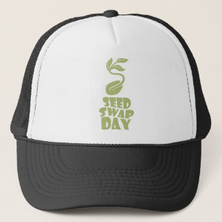 28th January - Seed Swap Day - Appreciation Day Trucker Hat