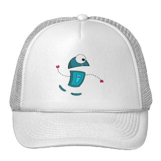 293 CUTE KID ROBOT CARTOON GRAPHIC CAP