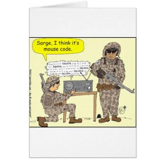 299 mouse code cartoon card