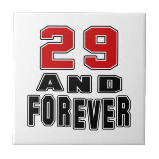 29 birthday designs tiles