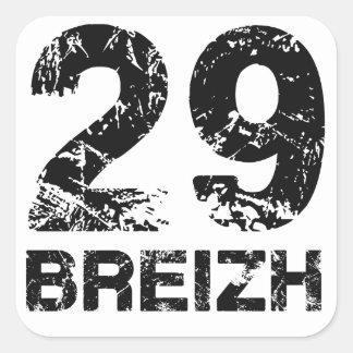 29 Breizh Square Sticker