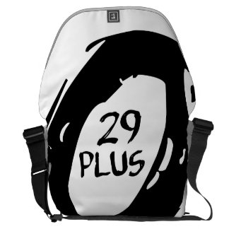29 plus mountsin bike wheel courier bag