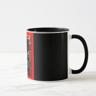 """29 + TAX =30"" RINGER BIRTHDAY COFFEE MUG"