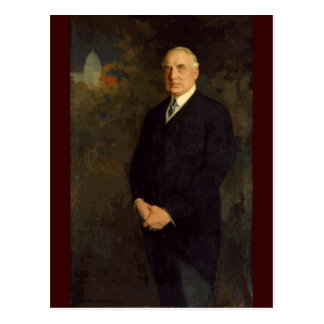 29 Warren G. Harding Postcard