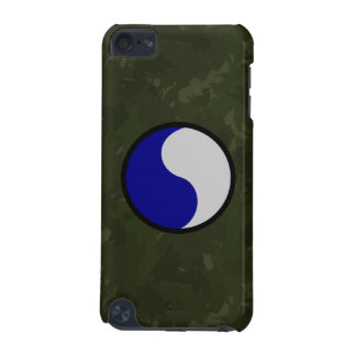"""29th Infantry Division """"29 Lets Go!"""" WW II Camo iPod Touch (5th Generation) Covers"""