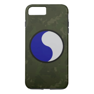 "29th Infantry Division ""Dark Green Camo"" iPhone 7 Plus Case"
