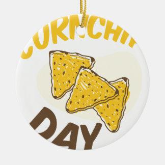 29th January - Cornchip Day Ceramic Ornament