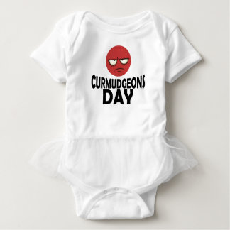 29th January - Curmudgeons Day Baby Bodysuit
