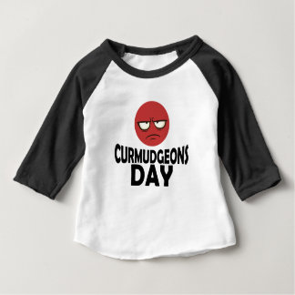 29th January - Curmudgeons Day Baby T-Shirt