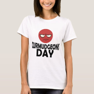 29th January - Curmudgeons Day T-Shirt
