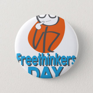 29th January - Freethinkers Day 6 Cm Round Badge