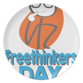 29th January - Freethinkers Day Dinner Plate