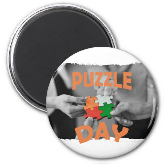 29th January - Puzzle Day - Appreciation Day Magnet