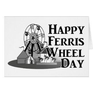 2-14 Ferris Wheel Day Greeting Card