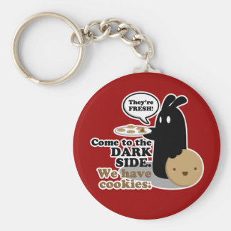 "2 1/4"" Come To The Dark Side. Key Chain"