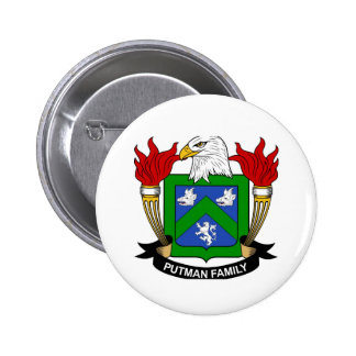 2 1/4 Putman Coat of Arms Button