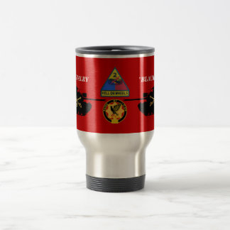 2/1st Cavalry M48A3 Patton Mug