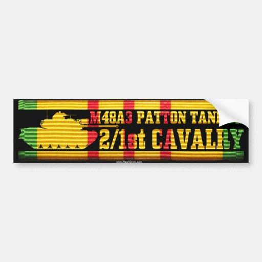 2/1st Cavalry M48A3 Tanker Bumper Stickers