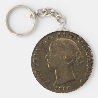 """2.25"""" Basic Button Keychain 1858 by highsaltire"""