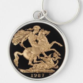 """2.25"""" Basic Button Keychain 1987 by highsaltire"""