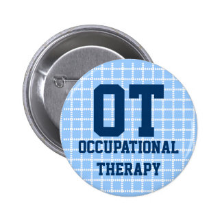 2 25 occupational therapy button - blue white