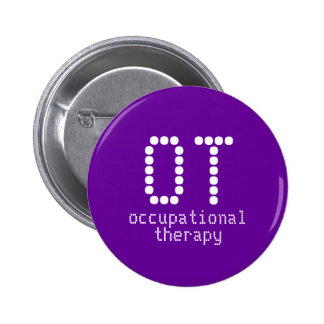 2 25 occupational therapy button - dark purple