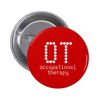 2 25 occupational therapy button - red