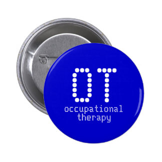 2 25 occupational therapy button - royal blue