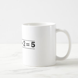 2 +2 = 5 COFFEE MUG