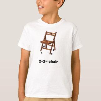2+2=chair Kid's Shirt