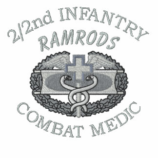 2/2nd Inf. Combat Medical Badge Embroidered Shirt