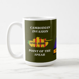 2/34th Armor Cambodian Invasion VSR Tank Mug