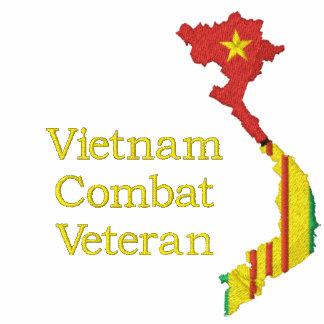 2/34th Armor Vietnam Combat Veteran Map Shirt Polos