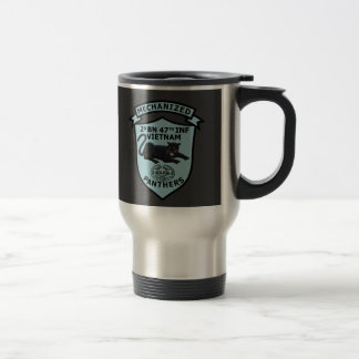 2/47th Infantry  Crest & Patches CMB Mug