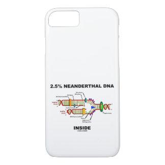 2.5% Neanderthal DNA Inside Biology Geek Humor iPhone 8/7 Case