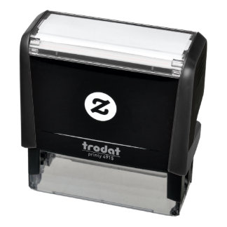 "2.65"" x 0.9"" Self Inking Rubber Stamp"