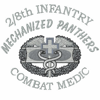 2/8th Inf. Combat Medical Badge Embroidered Shirt