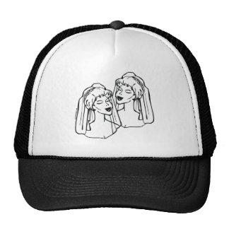 2 Brides Gay Marriage Cap