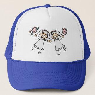 2 Brides Trucker Hat