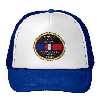2 CAMPAIGN STARS KOSOVO WAR VETERAN HATS