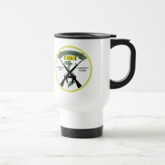 2 CAMPAIGN STARS VIETNAM WAR VETERAN COFFEE MUGS