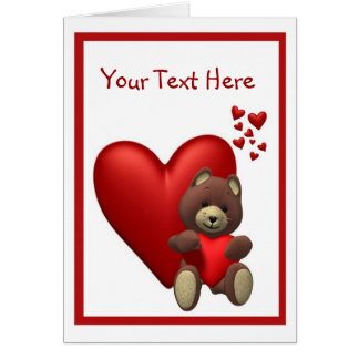 2. Cherished Teddy Bear - Customize It! Greeting Cards